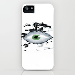 Wild Eyed iPhone Case