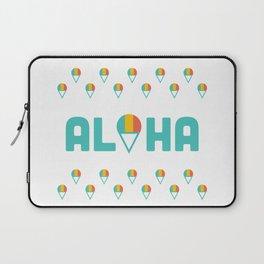 Aloha Shave Ice Laptop Sleeve