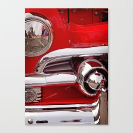 Candy Apple Red Canvas Print