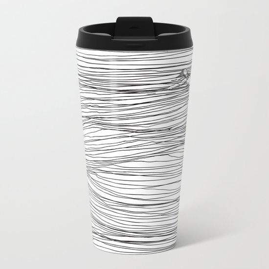 Another Long Silence Metal Travel Mug