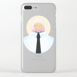 Adult Life Clear iPhone Case