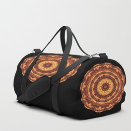 Kaleidoscope pleasant evening Duffle Bag