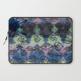 Autumn background Laptop Sleeve