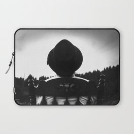 Waiting for the Storm Laptop Sleeve