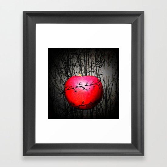 A Darker Time Framed Art Print