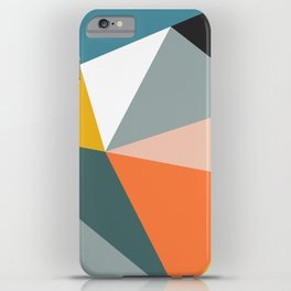 Modern Geometric 33 iPhone Case