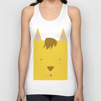 sam smith Tank Tops featuring Sam by Pala design
