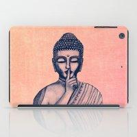 buddha iPad Cases featuring BuDDha  by Vanya