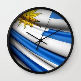 Flag of Uruguay Wall Clock