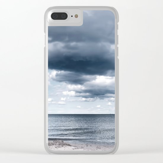 Looking for the clouds - Beach Ocean Sea Cloud Water Landscape on #Society6 Clear iPhone Case