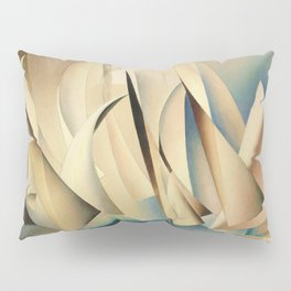 Pertaining to Sailing Yachts and Yachting by Charles Sheeler Pillow Sham