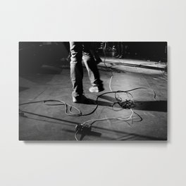 Szaja Happy Feet Metal Print