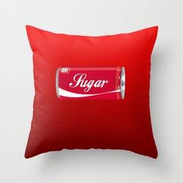 COCA SUGAR Throw Pillow