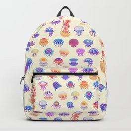 Jellyfish Day - pastel Backpack