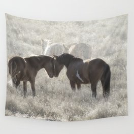 Nuzzling Wall Tapestry