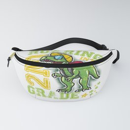 Funny 2nd Grade Dinosaur graphic - Perfect School Gift Fanny Pack