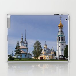 Vologda Kremlin In The Morning Laptop & iPad Skin