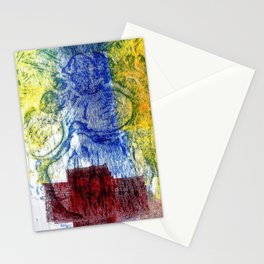 Coal miner lady III Stationery Cards