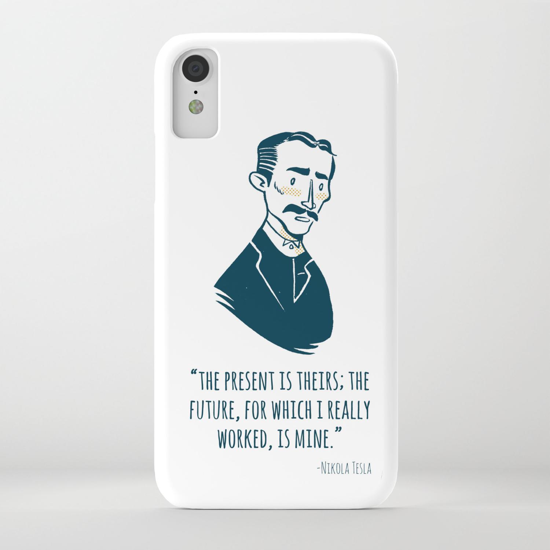 Nikola Tesla Iphone Case By Chrisbaldie Society6