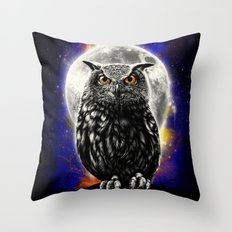 'The Watcher' Throw Pillow