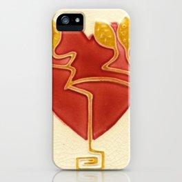 Art Nouveau Heart iPhone Case