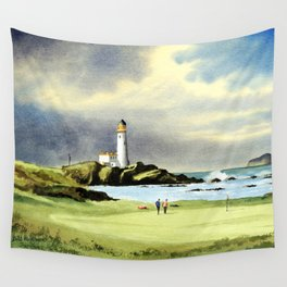 Turnberry Golf Course 10th Green Wall Tapestry