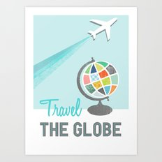 Travel the Globe Art Print