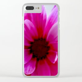 Pink/Purple Vibrance Clear iPhone Case