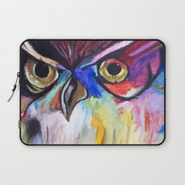 Colorful Owl Laptop Sleeve
