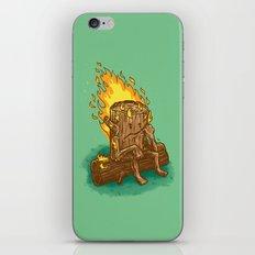 Bad Day Log iPhone & iPod Skin