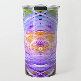 Blue Lotus II Travel Mug