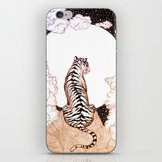 Tiger Moon Glow iPhone & iPod Skin