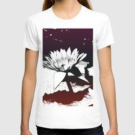 Stylized Water lily T-shirt