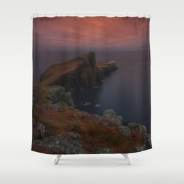 At The Far West Shower Curtain
