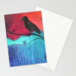 """Manifest"" Original painting by Carly Mojica Stationery Cards"