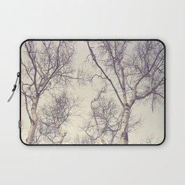 Winter Birch Trees Laptop Sleeve