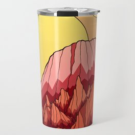 The Mountains of the red planet Travel Mug