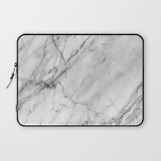 Carrara Marble Laptop Sleeve