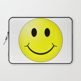 Smiley Face Laptop Sleeve
