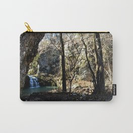 Alone in Secret Hollow with the Caves, Cascades, and Critters - First Glimpse of the Falls Carry-All Pouch