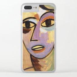 Alexei Jawlensky - Mysticher Kopf Jungling Clear iPhone Case