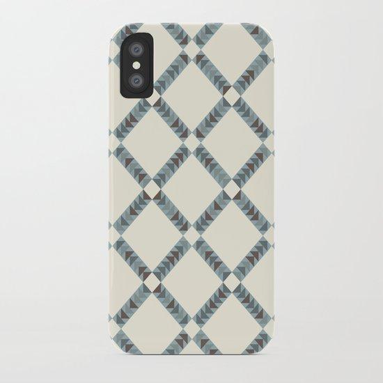 Navajo Winter Pattern iPhone Case