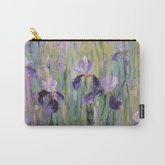 Gentle irises Carry-All Pouch