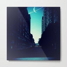 Planet Hoboken Metal Print