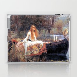 The Lady Of Shalott John William Waterhouse Laptop & iPad Skin