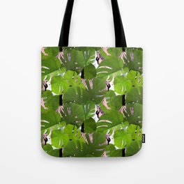 Crouching Tiger Hidden Golden Sparkles Tote Bag
