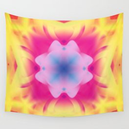 Pastel Flower Wall Tapestry