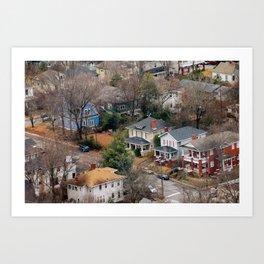 The Old Neighborhood Art Print