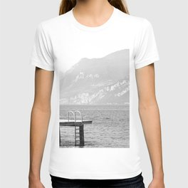 Swimming at lake Garda Italy T-shirt