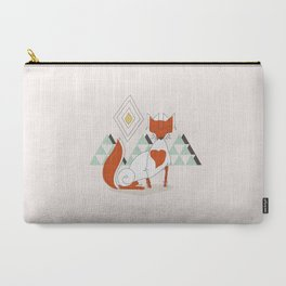 Fox in the mountain Carry-All Pouch